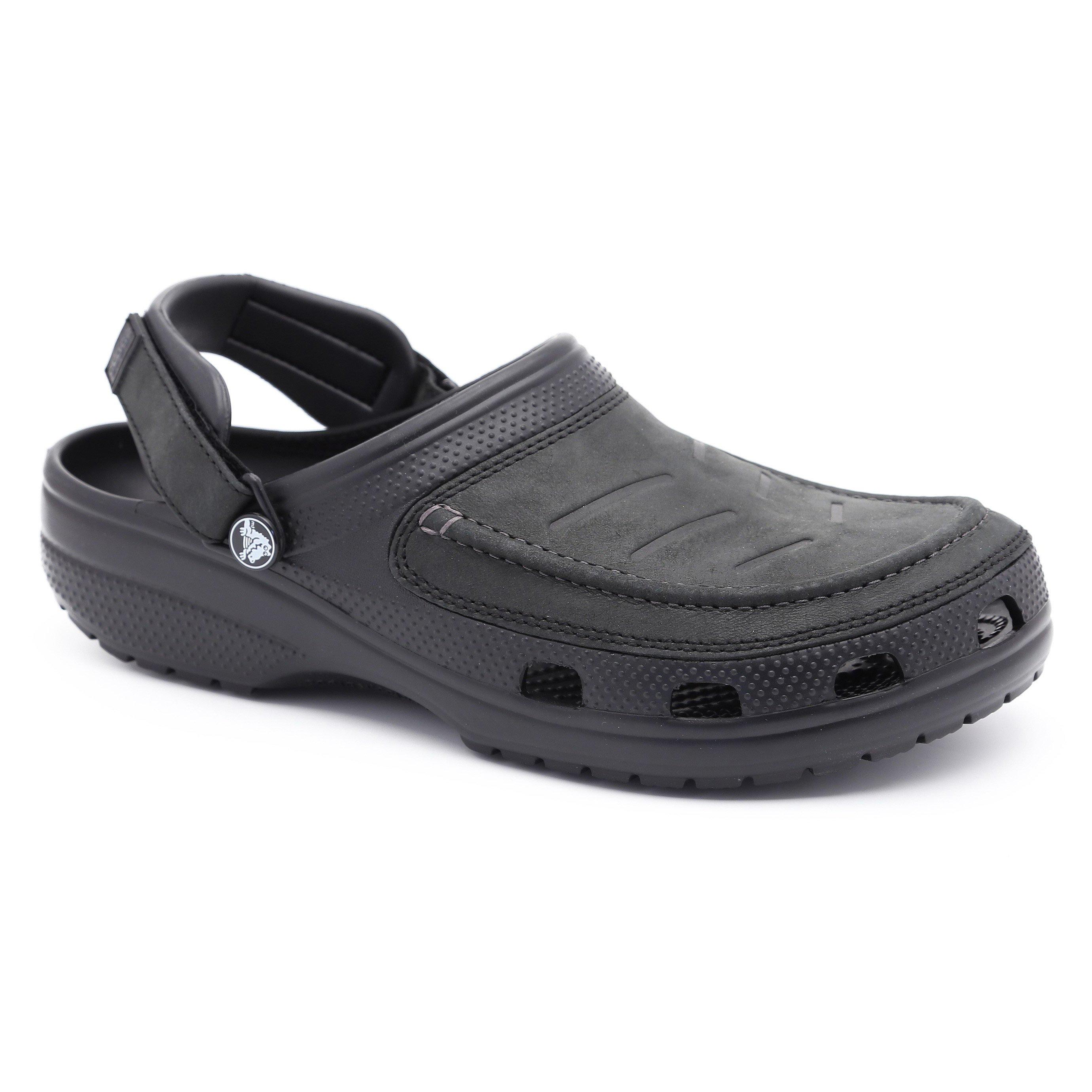 Crocs Yukon Vista Clog  - כפכף יוקון ויסטה לגבר בצבע שחור