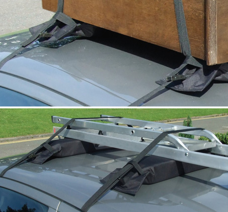 EASY RACK - גגון ספוג קשיח ונייד לרכב העומד בעומס מרבי של 60 ק