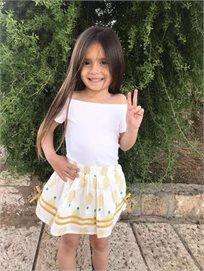 ORO חצאית (7-2 שנים)- אננס צהוב