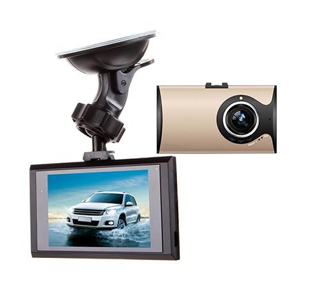 מצלמת דרך לרכב FULL HD 1080P המאפשרת תיעוד נרחב של הנסיעה כוללת מסך LCD בגודל 3 אינץ  - תמונה 2
