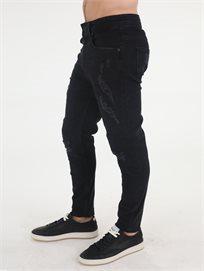 ג'ינס פפה ג'ינס שחור לגברים
