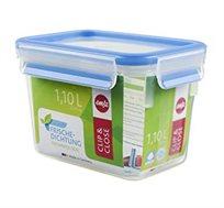 קופסת פלסטיק אטומה 1.1 ליטר