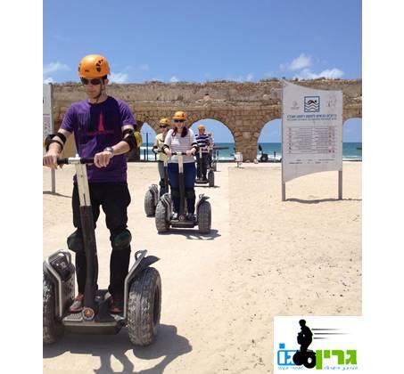 סיור סגווי על דגם X2 החדיש בן 60 דקות בתל אביב, קיסריה וירושלים