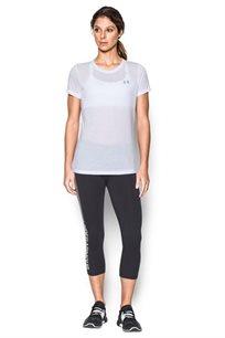 חולצת אימון לאישה UNDER ARMOUR מנדפת זיעה דגם 1290181 - צבע לבחירה