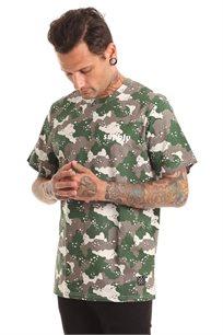 חולצת טי לגברים SUPPLY בצבע אפור צבאי