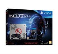 קונסולה Playstation 4 בנפח 1TB כולל Star Wars Battlefront 2  במהדורה מוגבלת