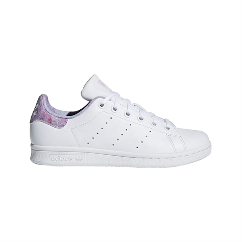 Adidas ילדים// Stan Smith Cf I White/Pink