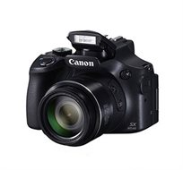 מצלמה FULL HD 16.1MP כולל Wi-Fi סופר זום ענק X65 תוצרת CANON דגם SX60HS