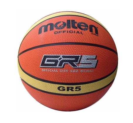 כדורסל MOLTEN גודל 5 דגם GR5