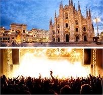 """הופעה של פרל ג'אם במילאנו כולל טיסות ו-4 לילות ע""""ב ארוחת בוקר במלון לבחירה החל מכ-€469* לאדם!"""