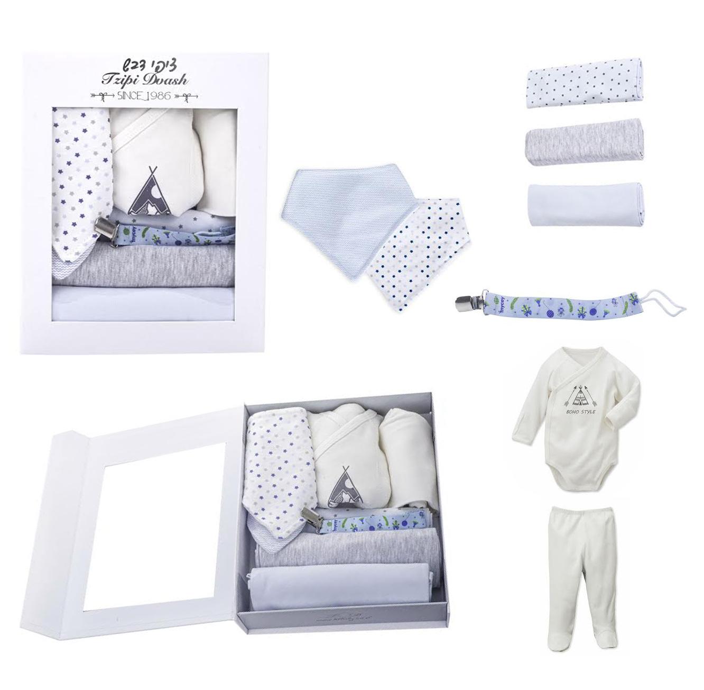 מארז מתנה ליולדת כולל ארבעה פריטים בגוונים לבחירה - תמונה 4