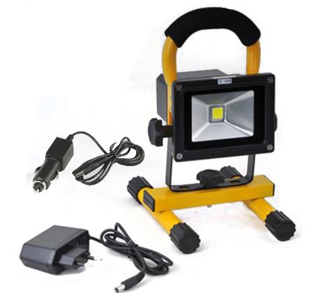 מודרני פרוג'קטור LED נייד ונטען 10w או 20W עוצמתי, מוגן מים ובעל זמן IO-13