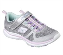 Skechers ילדות // Trainer Lite Jazzy Jumpers Gray Mint