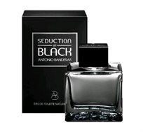 """בושם לגבר Seduction In Black א.ד.ט 50 מ""""ל Antonio Banderas"""