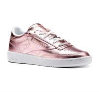 נעלי אופנה לנשים דגם CN0512 בצבע ורוד מטאלי
