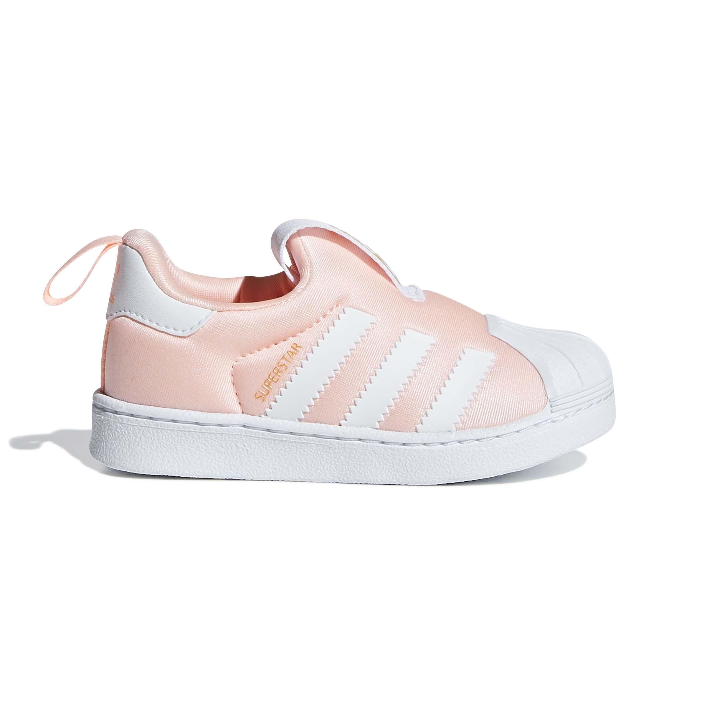 Adidas תינוקות // Superstar 360 Clear Orange