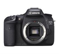 מצלמת רפלקס EOS 7D Mark II חיישן APS-C CMOS בעל 20.2 מגה פיקסל מבית Canon