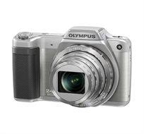 """מצלמת סופרזום 15SZ מבית OLYMPUS עם מסך בגודל """"3, זום אופטי 24X ויכולת הסרטת וידאו באיכות HD"""