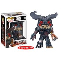 "Funko Pop - Cyberdeamon  6"" (Doom) 91  בובת פופ"