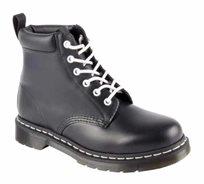 נעלי Dr. Martens יוניסקס בעלות טכנולוגיית סוליית האוויר דגם 939 Black Smooth