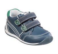 נעלי צעד שני לבנים דגם סמרטי בנים בצבע נייבי