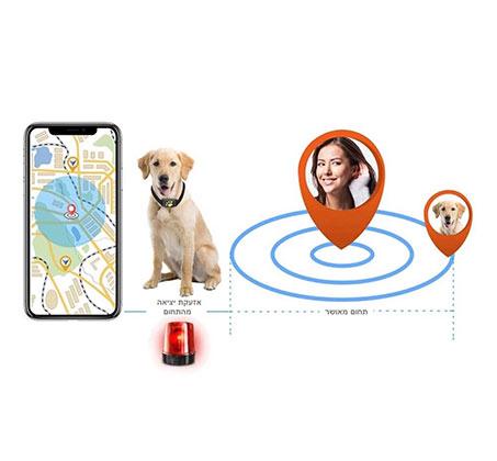 מכשיר איתור זעיר המאפשר מעקב אחרי הכלב או החתול בזמן אמת באמצעות אפליקציה - משלוח חינם - תמונה 2