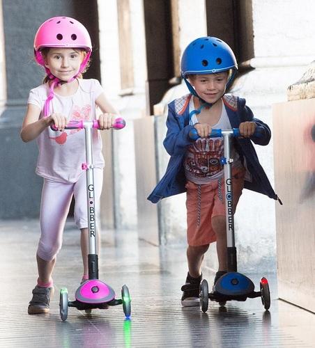 קורקינט לילדים עם אורות עלית מיי פרי פולד אפ My Free Fold Up Elite - כחול - משלוח חינם - תמונה 4