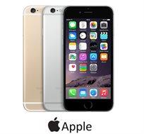 """אייפון 6 תומך דור 4, בנפח 16GB, מסך רחב 4.7"""" אלכסוני, מצלמה 8MP, מעבד A8 ו-2 צבעים לבחירה"""