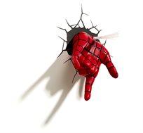 מנורת לד בצורת יד ספיידרמן 3D