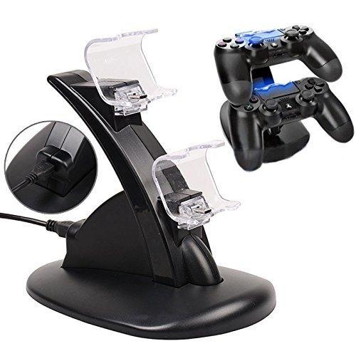 ערכת הטענה כפולה לשלטים Sony PlayStation 4