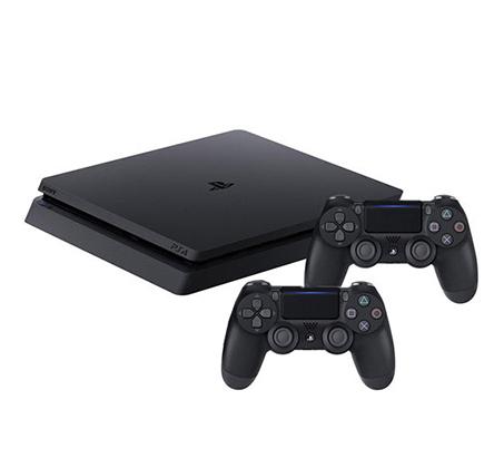 האחרון קונסולה Playstation 4 דגם חדש SLIM בנפח 1TB כולל 2 בקרים רוטטים KK-16