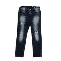 Oro ג'ינס(12 חודשים -16 שנים) - כחול רוכסן בצד