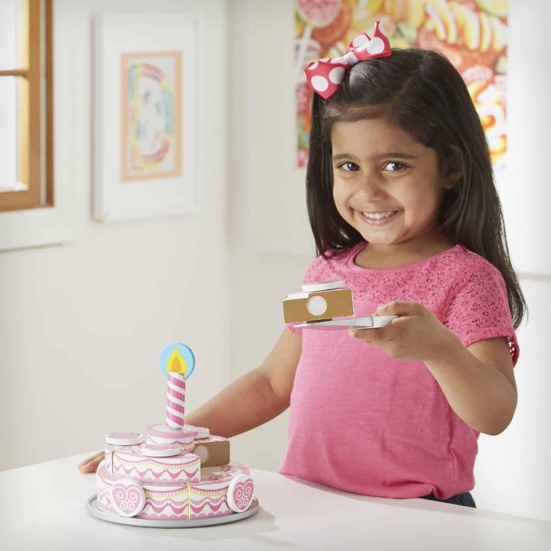 ערכה להכנת עוגה חגיגית 3 שכבות מעץ - תמונה 6