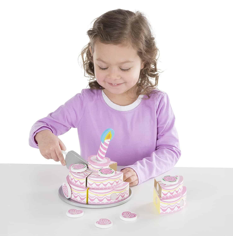 ערכה להכנת עוגה חגיגית 3 שכבות מעץ - תמונה 2