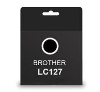 על איכות לא מתפשרים! ראש דיו תואם BROTHER LC127 צבע שחור, דיו איכותי למדפסת