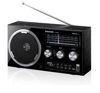 רדיו עם כניסת USB חדיש ומעוצב בסגנון רטרו דגם Panasonic RF-800U
