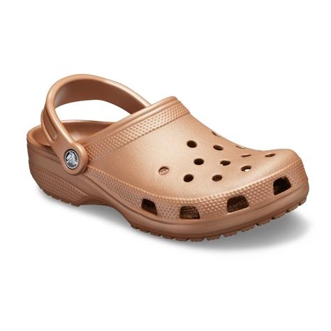 Crocs Classic - כפכפי קרוקס קלאסים בצבע ברונזה