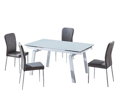 פינת אוכל הכוללת שולחן מעוצב בקו איטלקי עדין + 6 כיסאות אוכל בעיצוב תואם מבית SIRS  - תמונה 6