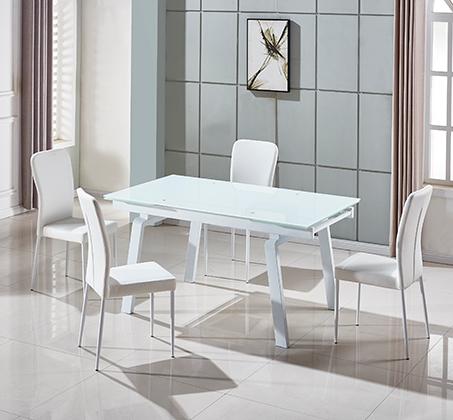 פינת אוכל הכוללת שולחן מעוצב בקו איטלקי עדין + 6 כיסאות אוכל בעיצוב תואם מבית SIRS  - תמונה 2