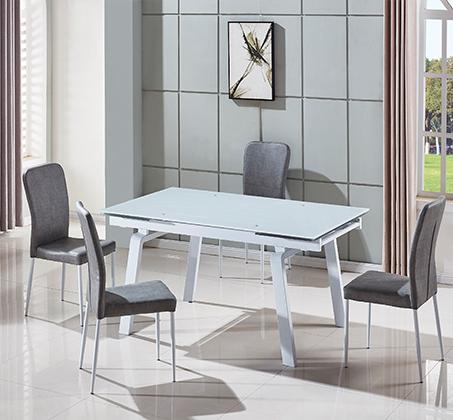 פינת אוכל הכוללת שולחן מעוצב בקו איטלקי עדין + 6 כיסאות אוכל בעיצוב תואם מבית SIRS  - תמונה 4