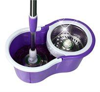 מוט לניקוי מהפכני כולל דלי יחודי Twist and clean לשטיפה ונקיון הבית באופן הנוח ביותר!