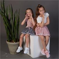 חצאית Oro לילדות (מידות 2-7 שנים) ורוד