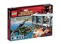 לגו גיבורי על Iron Man Malibu Mansion Attack דגם 76007