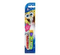 מברשת שיניים לילדים מנצנצת בובספוג