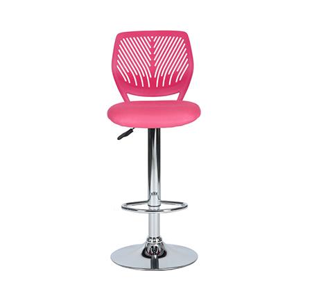 כסא בר עם מושב מרופד ונוח במגוון צבעים לבחירה - תמונה 2