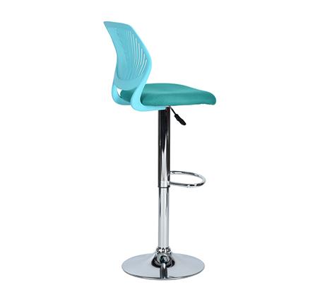 כסא בר עם מושב מרופד ונוח במגוון צבעים לבחירה - תמונה 6