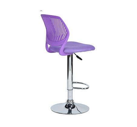 כסא בר עם מושב מרופד ונוח במגוון צבעים לבחירה - תמונה 3