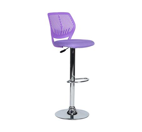 כסא בר מרופד במגוון גוונים לבחירה