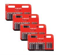4 מארזים של 12 סוללות משולבות Fujicom