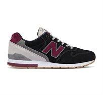 נעלי סניקרס לגברים NEW BALANCE דגם MRL996ND בצבע שחור/אפור/אדום
